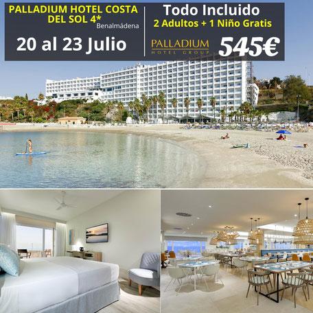 El Palladium Hotel Costa del Sol – Reformado-  All Inclusive está situado en Benalmádena, ofrece alojamientos en primera línea de playa y varias instalaciones, como jardín, bar y centro de fitness.