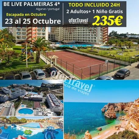 El Be Live Family Palmeiras Village All-Inclusive se encuentra en Porches, a solo 300 metros de la playa. A menos de 10 minutos en coche del establecimiento hay varios buenos campos de golf. Albufeira y sus playas, como la famosa playa de Falésia.