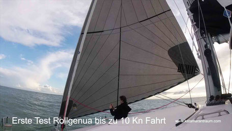 Catamaran Offshore Sailing, Catamaran Lagoon 42, Catamatan Atlantik sailing, Catamaran Mediterranean sailing, Catamaran docking, Catamaran maneuver, Catamaran training, Catamaran sailing, code zero sail, Nautical miles, Nautical millage confirmation