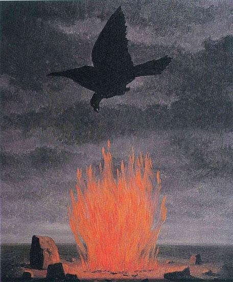"René Magritte, ""I fanatici"" (1955)"