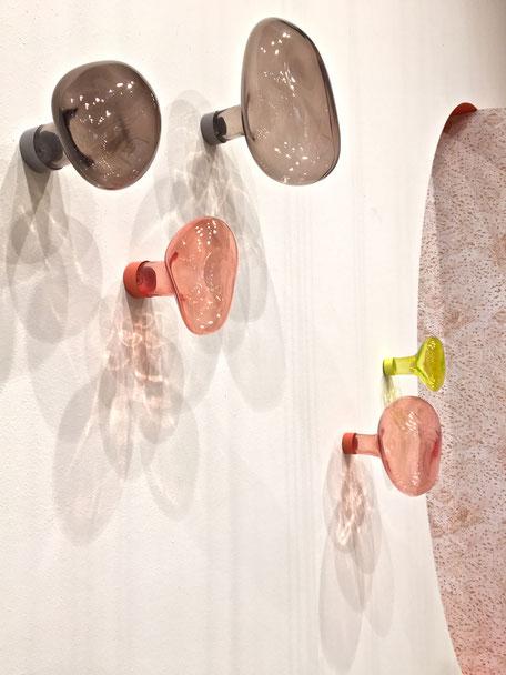 "dieartigeBLOG - IMM Cologne 2017 - Petite Friture | Glas-Garderobenhaken ""BUBBLE"""