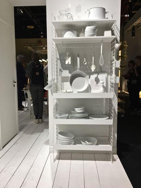 dieartigeBLOG - IMM Cologne 2017 | String - ganz in Weiß