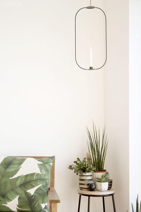 dieartigeBLOG - Dekoidee Grünpflanzen | grafische Dekoration