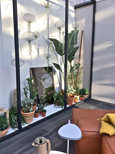 dieartigeBLOG - IMM Cologne 2017 - BloggerRoom | Luftpflanzen als Luftquallen