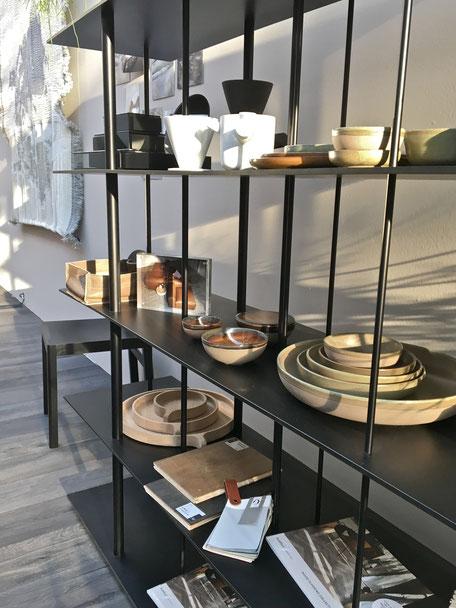dieartigeBLOG - IMM Cologne 2017 - BloggerRoom | Geschirr aus Ton in Erdfarben
