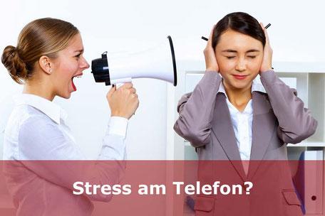 Umgang mit Stress am Telefon