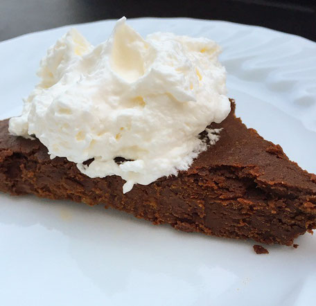 Gluten-free, Paleo, Grain-free, naturally sweet Sweet Potato Brownies from Windy Ridge Naturals.