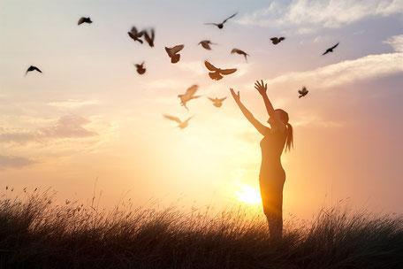 Trauma Therapie, physisch und psychische Überforderung, Heilung des Traumas, Lebensfluss