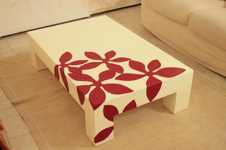 tavolino bianco, tavolino basso, tavolino su misura
