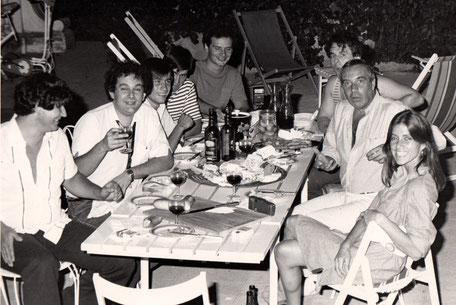 Une soirée chez Franck Fernandel avec Philippe et Christophe Le Van