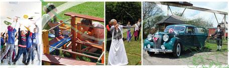fest feiern, hochzeit, sheerline, oldtimer, spielend erleben