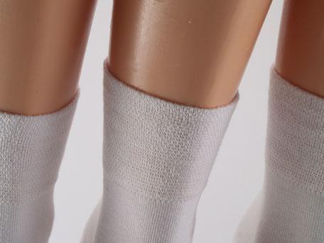 Bild: Bambus Kurzschaft Socken ohne Gummi, Strumpf-Klaus