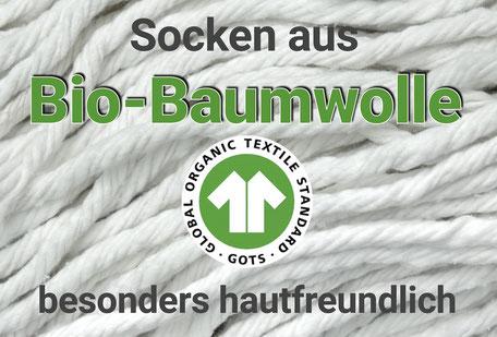 Bild: Bio-Socken, Strumpf-Klaus
