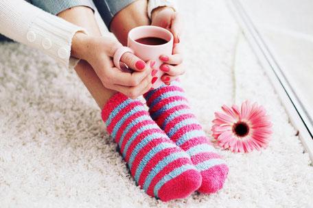 Bild: Wellness-Socken Damen, Strumpf-Klaus