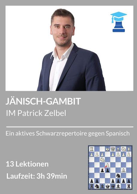 Jänisch-Gambit, chessemy Kurs von IM Patrick Zelbel