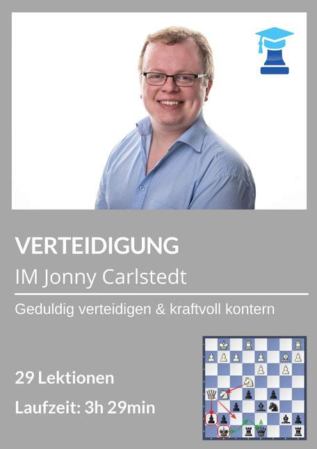Mittelspielkurs Verteidigung von IM Jonny Carlstedt