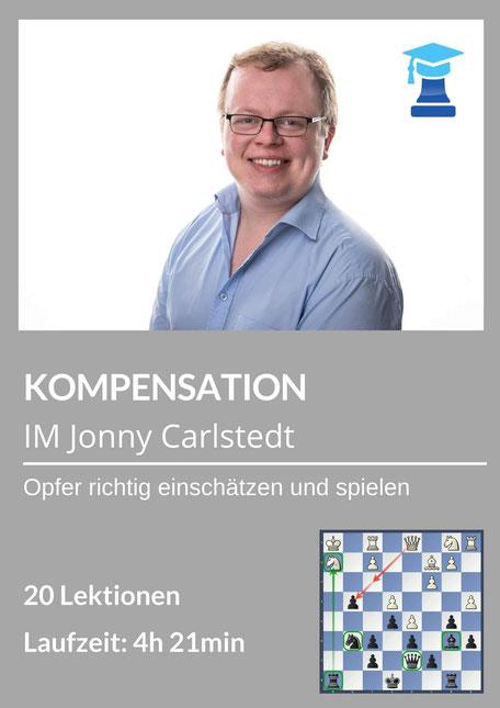 chessemy-Kurs Kompensation, IM Jonathan Carlstedt