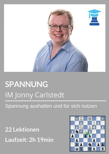 chessemy-Kurs Spannung, IM Jonathan Carlstedt