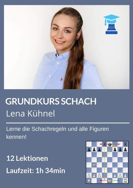Schach lernen mit Lena Kühnel, chessemy