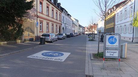 Fahrradstraße (Quelle: i.n.s. - Institut für innovative Städte)