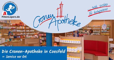 Pillenlopers - Apothekenbotendienst der Cronen Apotheke Coesfeld