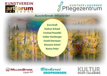Kunst - artforum Salzburg AUSSTELLUNG IM PFLEGEZENTRUM LADURNER