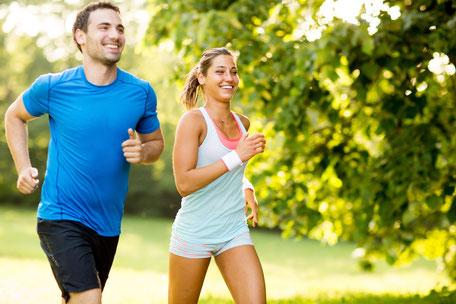 Laufen gegen Stress