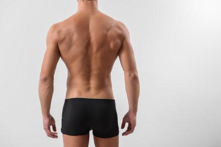 Gesunde und aufrechte Körperhaltung