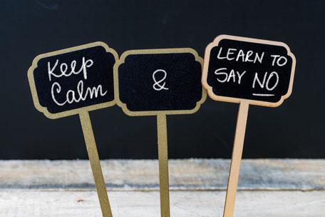 Nein sagen lernen