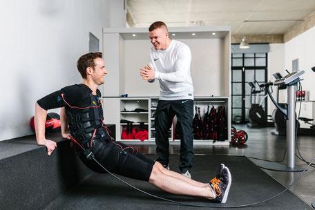Wie genau funktioniert unser EMS-Training?
