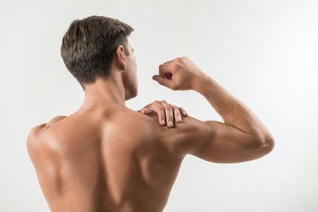 Gestärkte Rückenmuskulatur