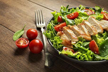 Proteinhaltige Ernährung