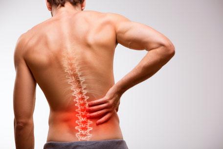 Muskulär bedingte Rückenschmerzen