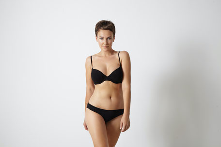 Optimiertes Brust-Taille-Verhältnis