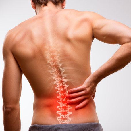 Starke Reduzierung der Rückenbeschwerden