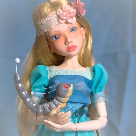Шарнирная кукла, BJD, авторская кукла