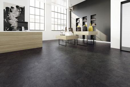 Beispielbild eines Designbalgs in schwarz