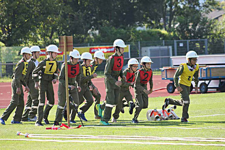 Jugendfeuerwehrbewerb Jugendgruppe FF Pischeldorf