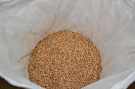 broyage du malt, concassage du malt avant l'empatage la mousse du guiers