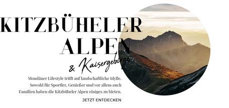 Tirol Online-Reiseführer: die besten Wandertipps, Ausflüge, Hotels, Restaurants in den Kitzbüheler Alpen, Brixental, Pillserseetal, Wilder Kaiser