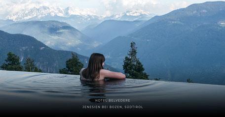 Hotel Belvedere, Jenesien - Bozen - Südtirol, Wanderhotel, Yogahotel, Wellnesshotel