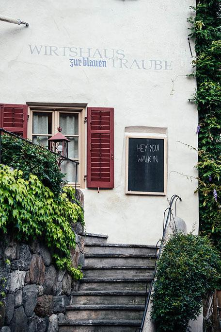 Wirtshaus zur Blauen Traube in Algund bei Meran | Chefkoch Christoph Huber | Kochrezepte Südtiroler Küche