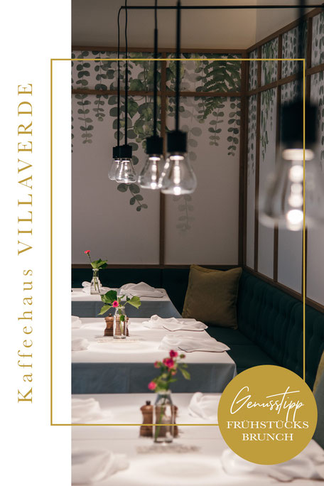 Restaurantguide für ALGUND/MERAN (Algunder Waalweg)  - Frühstücksbrunch Kaffeehaus VillaVerde