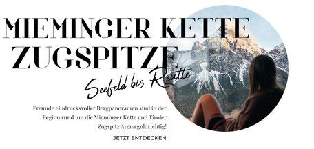 Tirol Online-Reiseführer: die besten Wandertipps, Ausflüge, Hotels, Restaurants zwischen Seefeld und Reutte, Mieminger Kette, Ammergauer Alpen, Wettersteingebirge