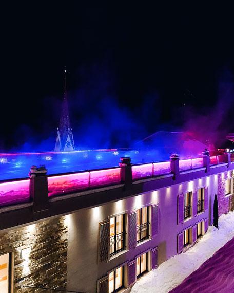 Infinity Pool, SPA, Stock Resort im Zillertal, Tirol