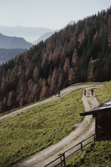 leichte Wanderung bzw. Mountainbiketour ab Alpbach, Tirol
