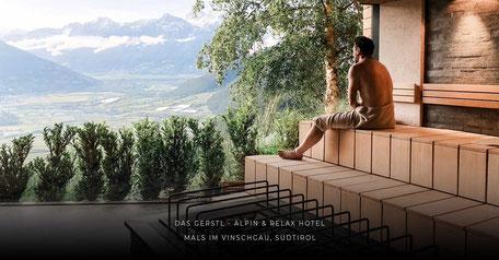 Hotelempfehlung: Wellnesshotel DAS GERSTL, Vinschgau - Südtirol
