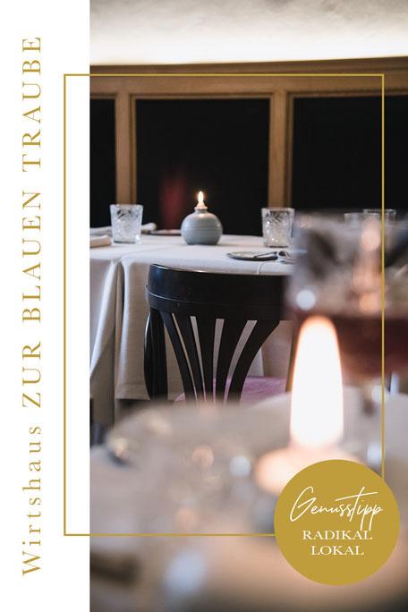 Restaurantguide für ALGUND/MERAN (Algunder Waalweg) - Wirtshaus zur blauen Traube, Algund-Lagundo