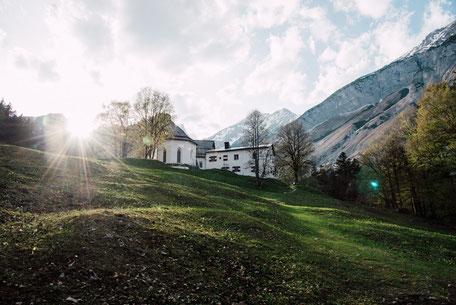 Wanderung nach St.Magdalena im Halltal