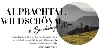 Tirol Online-Reiseführer: die besten Wandertipps, Ausflüge, Hotels, Restaurants in Alpbachtal, Wildschönau, Brandenberger Alpen